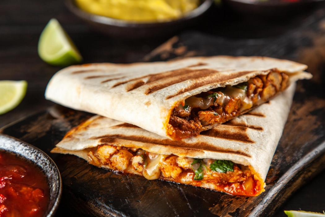 Beefree Meat tortilla wraps